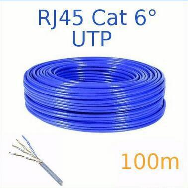 Underground Network Cat6 FTP Cable For 100Base T / ATM / Ethernet