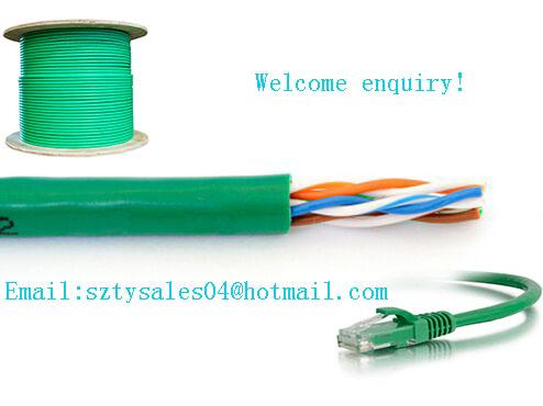 ISO Approval 10m Cat6 Ethernet Cable For Multimedia Networks PE Insulation
