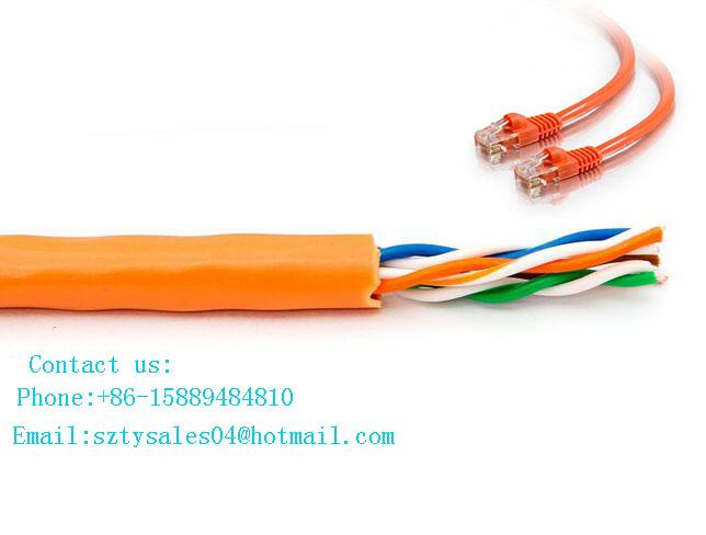 High Performance Data Category 6 Lan Cable Cat6 Gigabit Cable