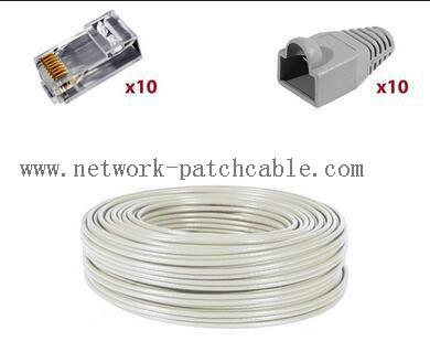 Ethernet Network Cat6 SFTP Cable Copper Pass Fluke 305 m/roll