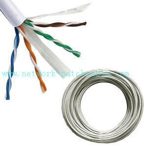1000ft Solid 0.51mm Cat6 SFTP Cable 23AWG Twisted Pair Wire Grey