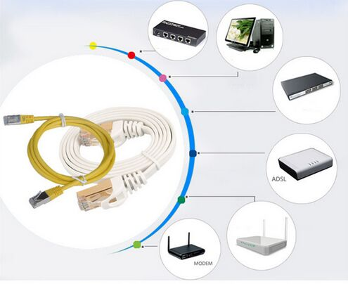 SSTP Double Gray Network Cable Cat 7 Ethernet Cable PVC Or LSZH