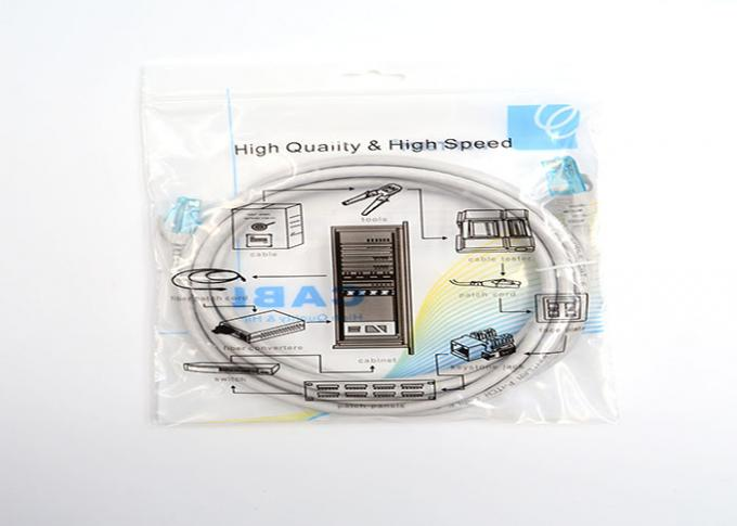 Unshielded 3ft cat6 patch cables , Molded category 6 patch cable grey Color