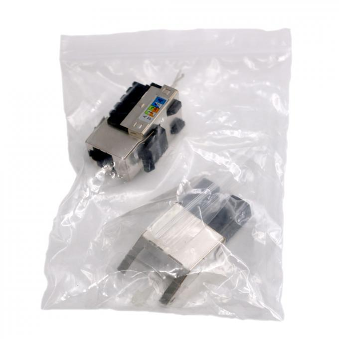 Shielded CAT5e RJ45 Keystone Module 8P8C RJ-45 Network Connector