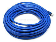 China RJ45 Ethernet SSTP / SFTP Cat7 Patch Cord Blue Color 600MHz factory