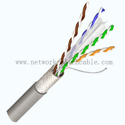 Lan Outdoor Cat6 Cable Solid Bare Copper Pass Fluke 305m/roll