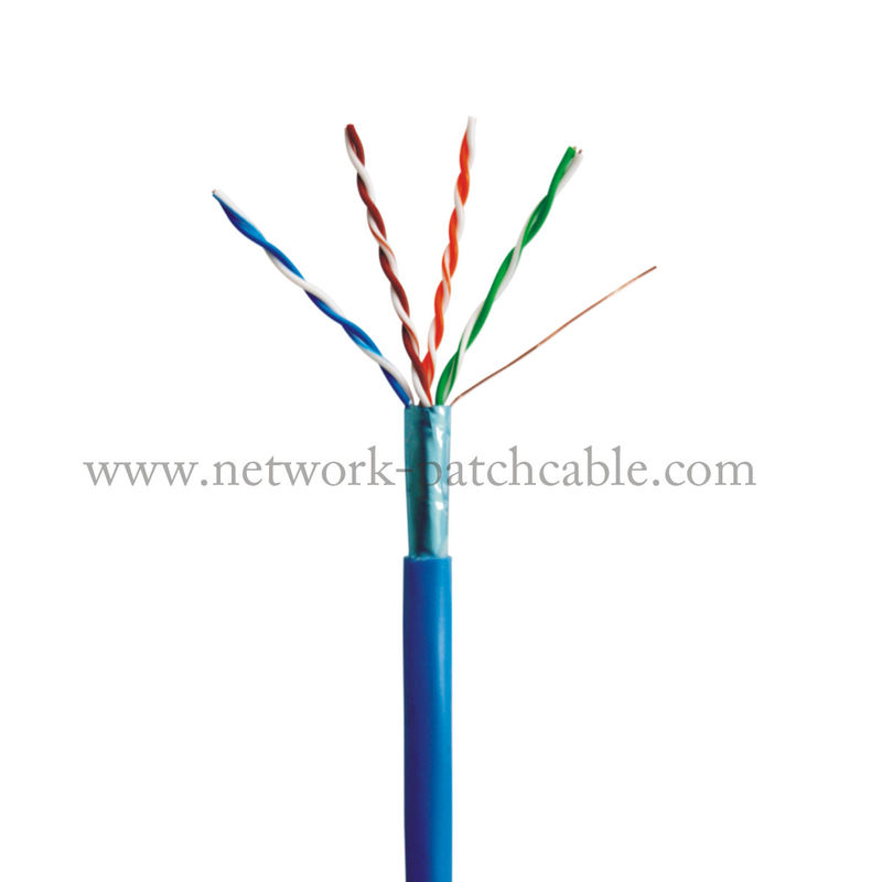Single Jacket Outdoor 4P Cat5e FTP Cable Computer Around Cable