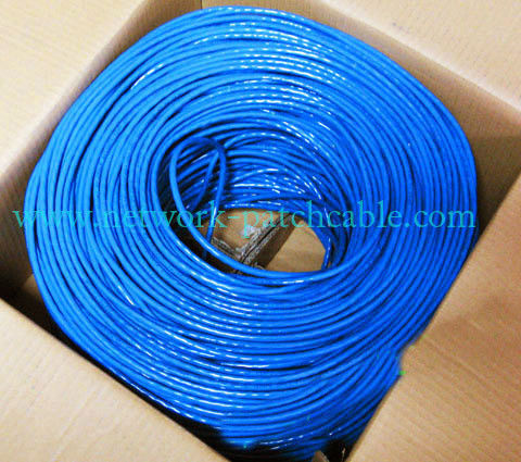 Solid Standard Cat5e SFTP Cable 4P Indoor Network Cable Bare Copper