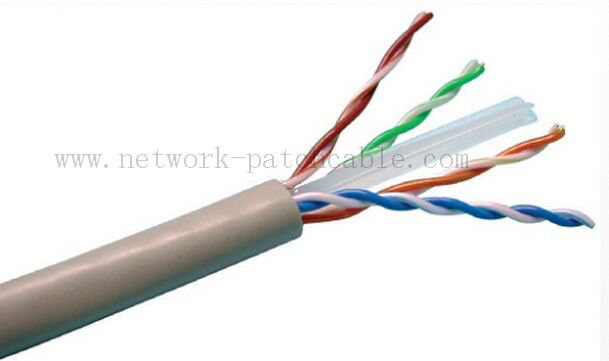 10 Gigabit Ethernet Plenum Rated Cat 6 Cable 23Awg 4Pair 305 M/Roll Grey
