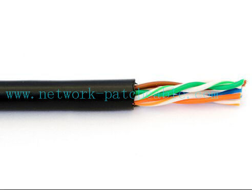UTP / FTP / SFTP Outdoor Cat5e Cable Network With Fluke Tested Approved