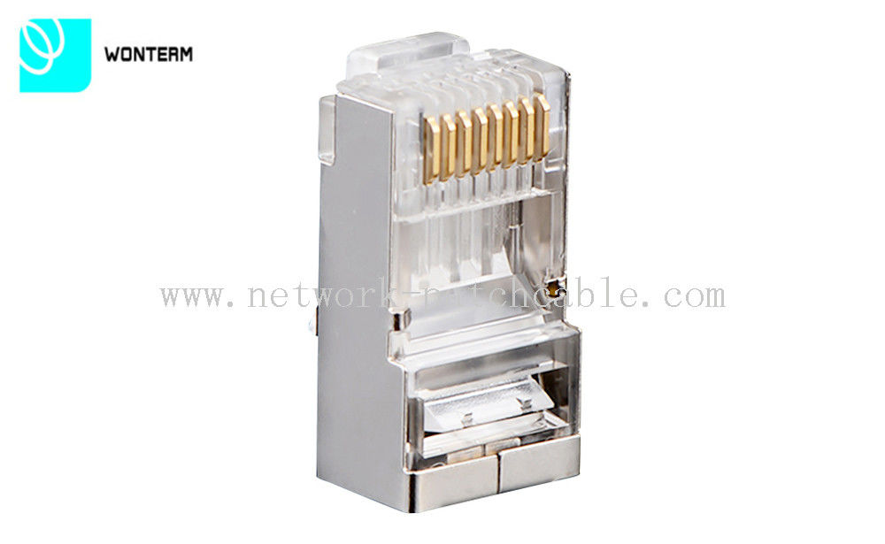 RJ45 8P8C Connector Shielded Modular Plug for Cat6 Patch Cord