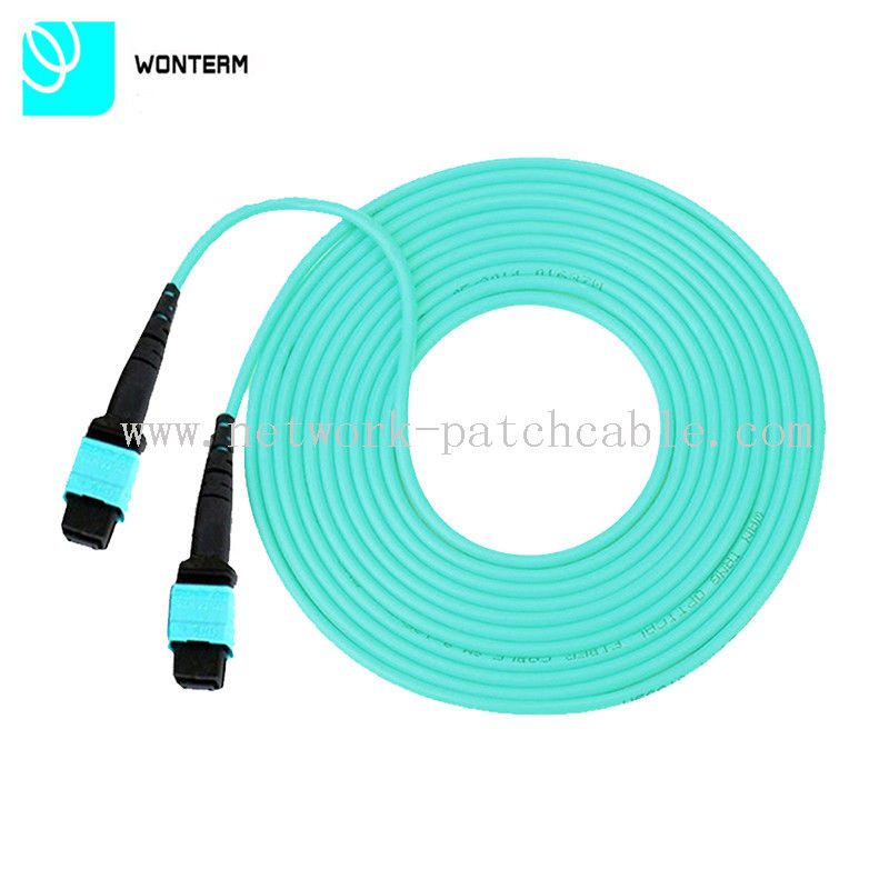 Round Wire Fiber Optic Patch Cord with SC, LC, ST, FC Connectors