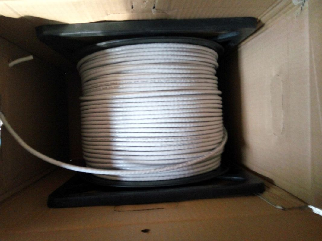 Copper 23 American Wire Gauge category 6 utp cable 0.5mm PVC 305m