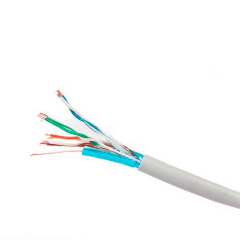 8 core Sheilding Network SFTP CAT6 Cable 23AWG Stranded 0.56mm Bare Copper