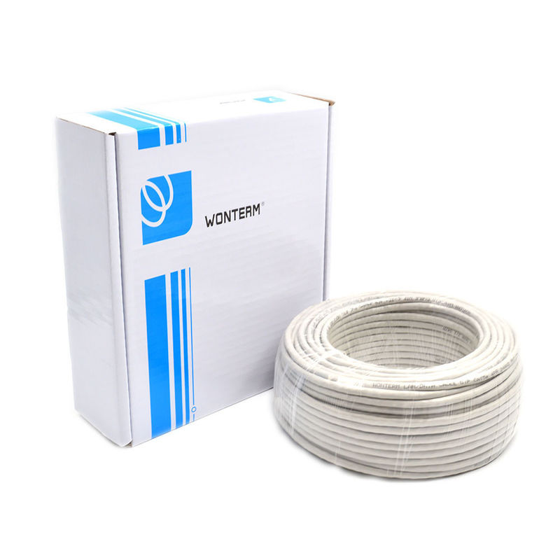 50m Category 6 Networks 0.56mm Twisted 23AWG Cat6 UTP Cable TIA/ETA568B