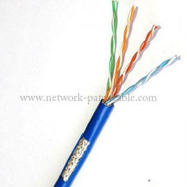 China Twisted Network Cat5E SFTP Cable Copper Pass Fluke Hight Speed factory