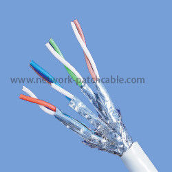 China PE Single Jacket Category 7 Ethernet Cable Transmits Voice And Video Signals factory