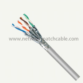 China RJ45 Ethernet Network Cat7 SSTP Cable 305M 100M Gray Indoor / Outdoor factory