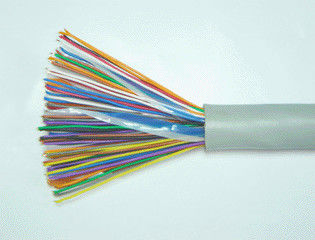 China Shielded Indoor Telephone Cable Cat 3 Ethernet Cable UTP Spiral / Straight factory