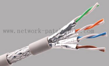China Lan Cable Cat 7 Network Cables SSTP Long Network Cable 305M 100M factory