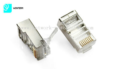 Unshielded RJ45 Network Jack S/FTP CAT6 RJ45 Connector (CE) RoHS Approved