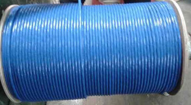 China SFTP cat6 0.58mm cat6 networking cable BC CCU DC Light blue PVC UL / ROHS factory
