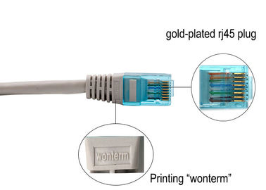 WONTERM RJ45 Cat5e Unshielded(UTP) Ethernet Patch Cord 2 Meter in Electronics Copper Computer Networking Cable
