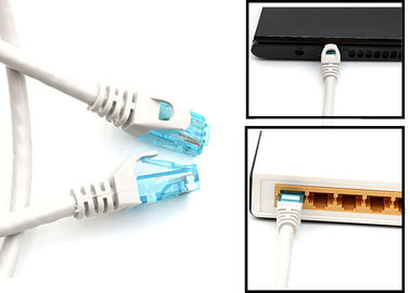 Outdoor Rated Long Or Short Cat6 Patch Cables UTP Category 6 Ethernet Cable